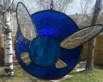 Zelda inspired Navi stained glass