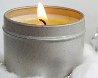 Set of 3 Stocking Stuffer Soy Christmas Jewelry Candles w/Sterling Silver OR Gold - NO Costume Jewelry