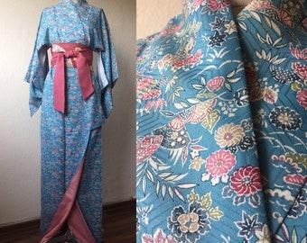 Vintage kimono silk
