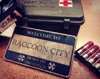 Resident Evil- Raccoon City Sign