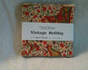 Moda Vintage Holiday bt April Cornell Free Shipping, VHTF,OOP