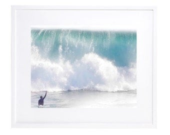 Ocean Photography, Digital Download, Newport Beach, Surf Photography, Printable, Wave Art, Wall Art, Victory In Advisery,