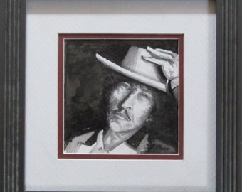 Bob Dylan Pencil Portrait-J D Hillsberry