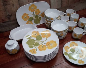 Noritake Progression China- Flower Time