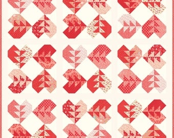 PDF Love Every Which Way Fat Quarter Friendly Quilt Pattern