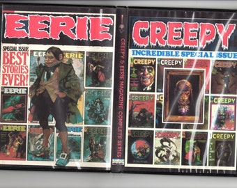 Rare Creepy & Eerie Magazine Complete Horror Collection on DVD-ROM