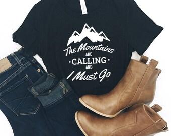 Mountain Shirt - Hiking Shirt- Mountains Shirt - Camping Shirt - Adventure Tee - Hiking TShirt - Wife Gift - Life is Better in the Mountains