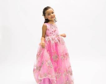 Designer Daddy Pink Transformation Dress