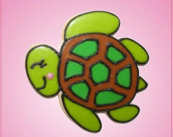 Pink Taylor Sea Turtle Cookie Cutter
