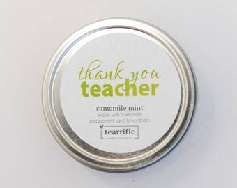 Christmas Gift for Teacher - Thanks Teacher - Gift For Teacher - Teacher Present - Best Teacher - Teacher Tea - End of Year Gift for Teacher