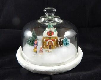 Nativity Under Glass