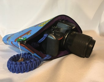 Padded camera bag, camera case, camera bag