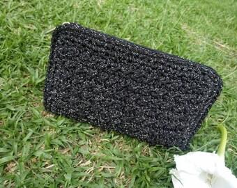 Crochet wallet,crochet wallet, crochet purse, crochet clutch, crochet bag