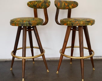 Vintage Bar Stool Etsy