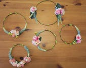Flower circlet set of 5 - Reserved for ~Jade schaan~ Please do not purchase