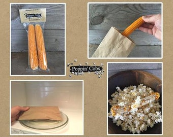 Popcorn On the Cob Twin Pack
