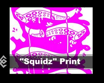Squidz Print
