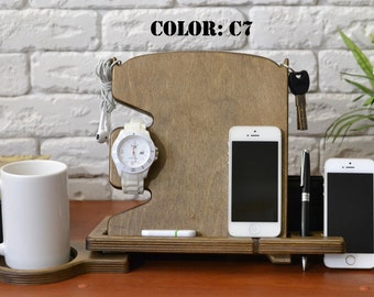 Wood Iphone stand wooden phone stand NOT harry potter phone case phone case iphone 6 made from plywood great gift for everybody
