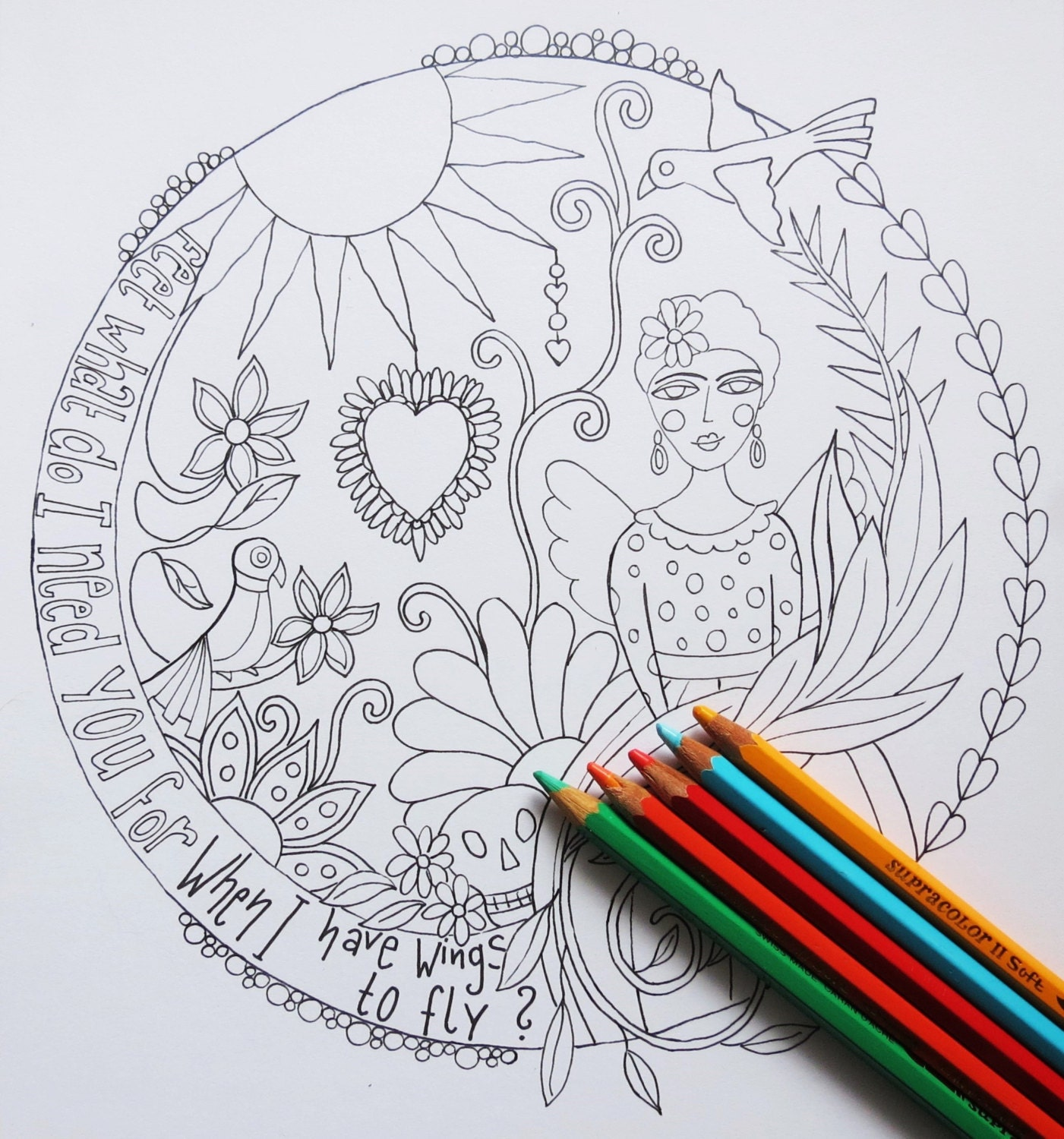 instant download coloring page mandala on a4 coloring for