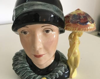 Kevin Francis - Susie Cooper - Character Toby Jug - Limited Edition 136 of 350 - Figurine - China