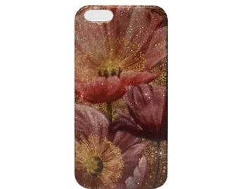 Pink Flower iPhone 7 case iPhone 7 plus case iPhone 6 case iPhone6s case iPhone 6 plus case iPhone 6s Plus case iPhone 5 case iPhone 5s Case