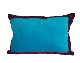 Velvet lumbar pillow Etsy