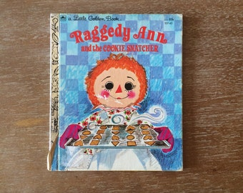 Little Golden Book Raggedy Ann and the Cookie Snatcher