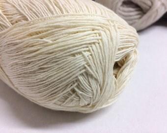 660m 100g cotton yarn ivory summer yarn