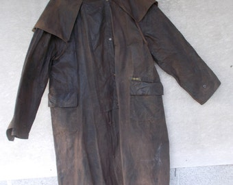 Driza-Bone Olive Green Wax Riding Coat