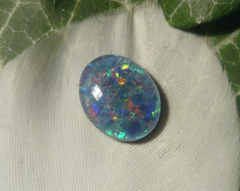 Reclaimed Vintage Opal Triplet, 1.8ct (Slightly Damaged)