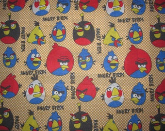 Fat quarters  ANGRY BIRD