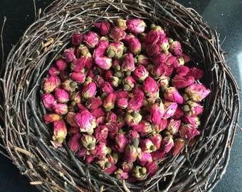 Dried rose buds organic 3.5 oz (100g)