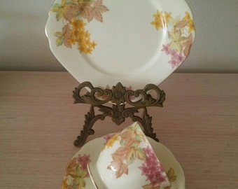 Vintage Bell China Trio/Cup,Saucer, Side Plate
