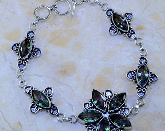 CLEARANCE* Rainbow Glass Bracelet
