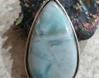 Beautiful Larimar Pendant Necklace