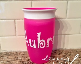 360* Sippy Cup -- personalized with name