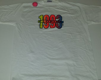 Vintage Florida 1993 graphic souvenir tshirt size XL