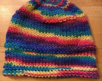 Running Through Rainbows Hat