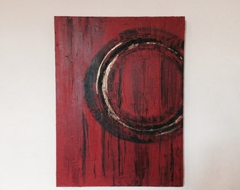 Acrylic painting , abstract art , modern home deco