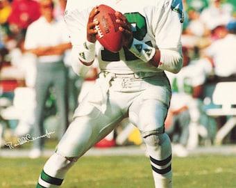 Randall Cunningham Philadelphia Eagles  1990  Poster