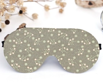 Mask for sleep eye sleep mask cotton gifts for travelers eye cover soft purple sleep mask 2-sided travel sleep mask