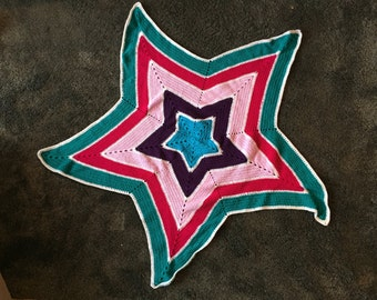 Star Baby/Child Afghan Blanket