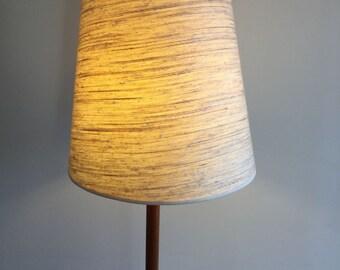 Vintage Teak Floor Lamp