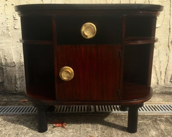 Rosewood Art Deco Stand