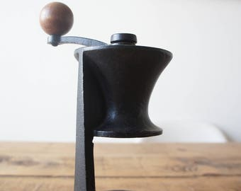 Mid century Robert Welch for Victor castware cast iron manual coffee grinder