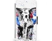 Iphone 7654 Samsung S4S5S6 elephant phone case phone case case strong case flip phone case elephant