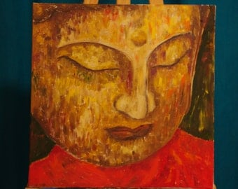 Buddha in red