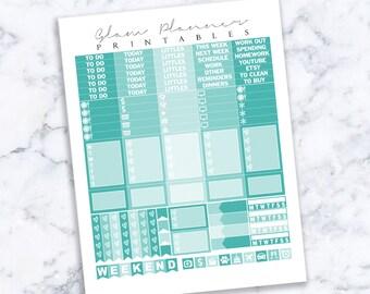 Printable Planner Stickers: 15 (Erin Condren Life Planner PDF)