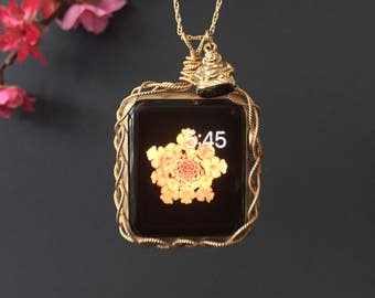Apple Watch 42mm Necklace-Eco Friendly 14k Gold Filled Apple Watch Jewelry Apple Watch Pendant Apple Watch Protector 42mm