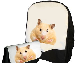 Hamster  Double Pack Bag / Pencil Case   BMS